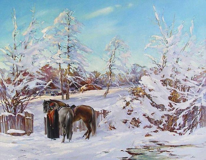 Восхитительные пейзажи и натюрморты художника Анатолия Бруно