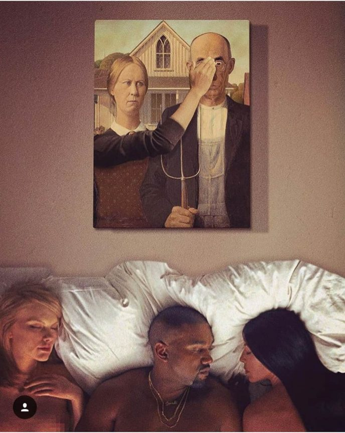 Combine incompatible: Turkish artist creates collages of famous paintings and contemporary art