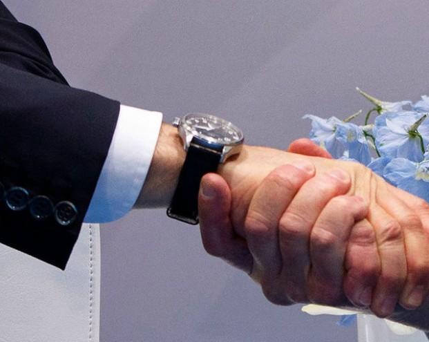 Трамп и Путин: Рукопожатие, заставившее вздрогнуть Порошенко