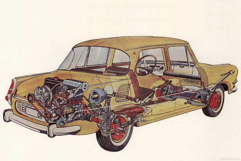 1000 MB оснащался бензиновой «четверкой» объемом 988 см3 и мощностью 42 силы. Двумя годами позже появилась модификация 1100 MB с 1,1-литровым 52-сильным мотором. заднемоторная компоновка, седан