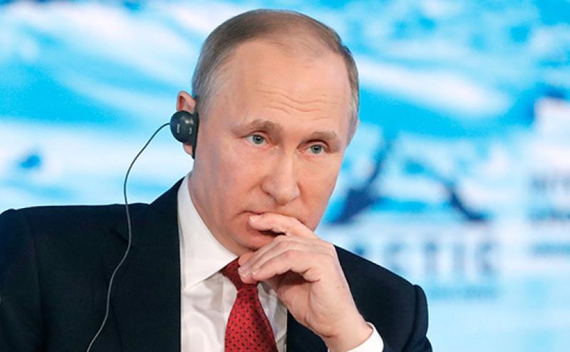 Путин дал оценку истерике Запада по поводу пресечения несанкционированных митингов