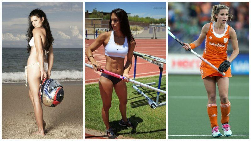 12 обворожительных девушек в мужских видах спорта