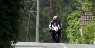 Вобблинг мотоцикла на скорости 275 км ч