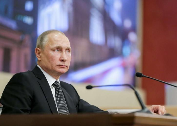 Владимир Путин сообщил об от…