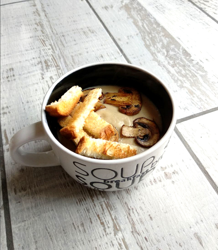 Грибной Крем-Суп Крем-Суп, Готовим дома, Грибной суп, Суп, Рецепт, Еда