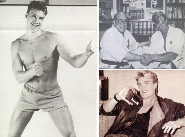Взрыв из прошлого - легенда боевиков 90-х Дольф Лундгрен на редких фотографиях