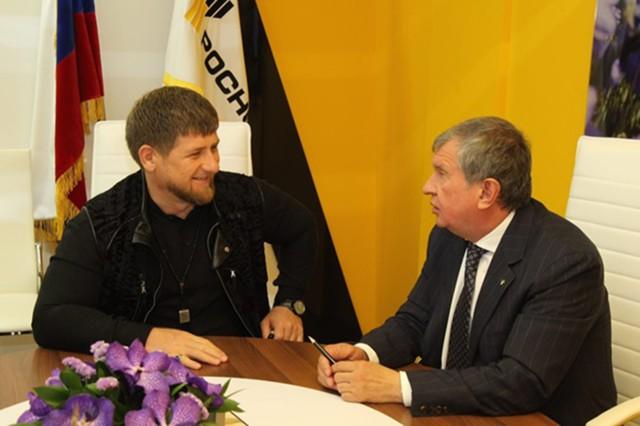 Сечин и Кадыров готовят судебный иск к FT за ложь