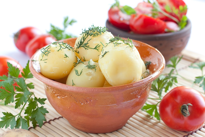 картофель и фигура