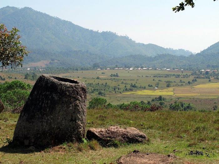 Центральный Лаос. Долина кувшинов (15 фото)