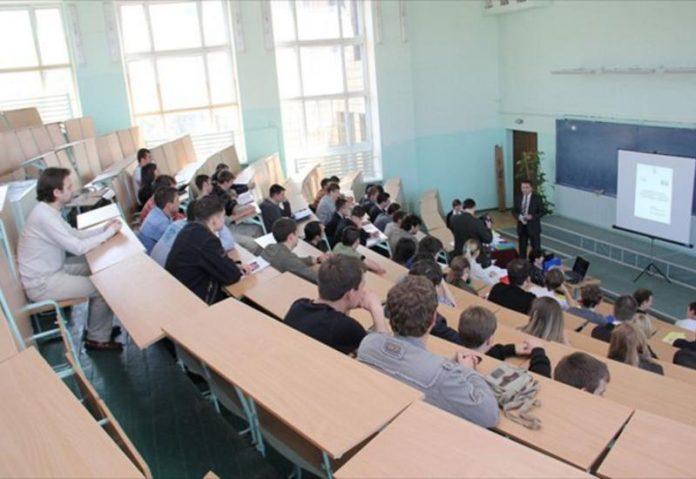 Очень смешная ситуация на лекции!