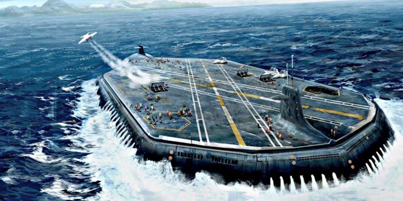 Авианосцы из глубин океана: …