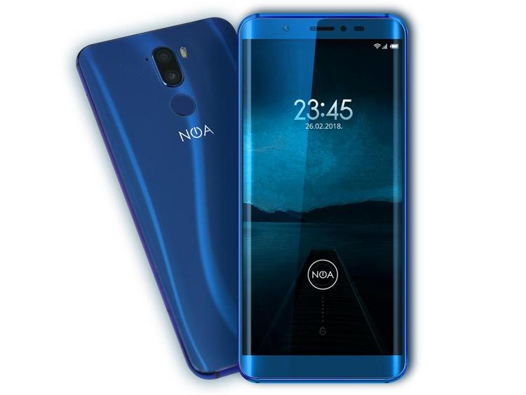 Смартфон NOA N7 позволит получать 80-мегапиксельные фотографии