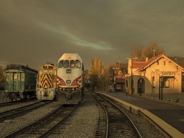 Американка женила на себе железнодорожный вокзал