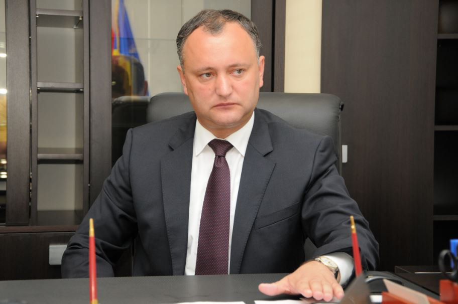Глава Молдавии подписал мемо…