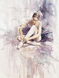Какую зарядку делают балерины?