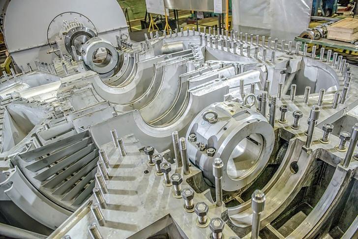 """Балтийский завод получил главный турбогенератор для строящегося ледокола """"Арктика"""""""