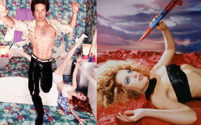 Неизвестная фотосессия инопланетной сексуальности Дэвида Духовны и Джиллиан Андерсон