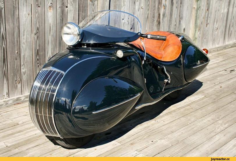 "Мотоцикл фирмы ""Хэндерсон"" 1930 годов"