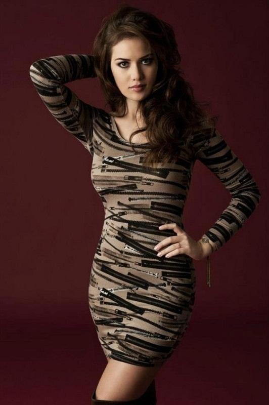 турецкая актриса Фахрие Эвджен Fahriye Evcen фото