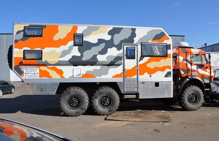 Как выглядят суровые отечественные дома на колесах, поставленные на шасси грузовиков