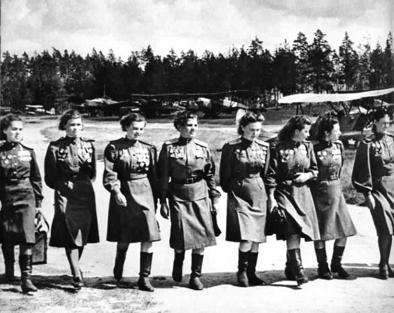 «Ночные ведьмы» - Почему фашисты так боялись 46-ой гвардейский женский Таманский авиаполк