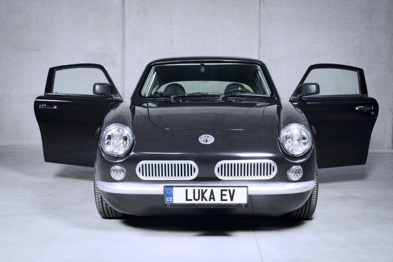 MW Motors Luka EV - чешский электрический автомобиль в ретро-стиле