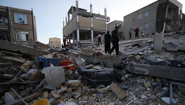 Число пострадавших при землетрясении в Иране превысило 2,5 тыс. человек