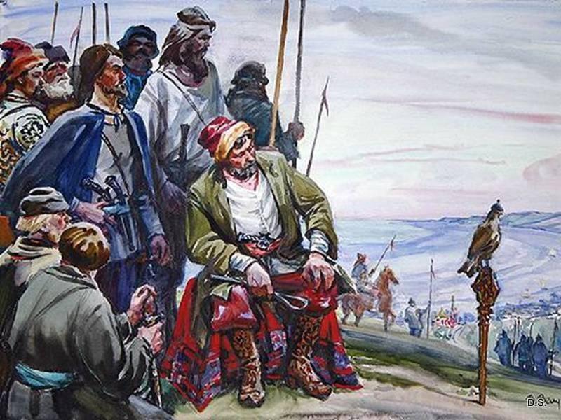 Разинщина. Начало Крестьянской войны