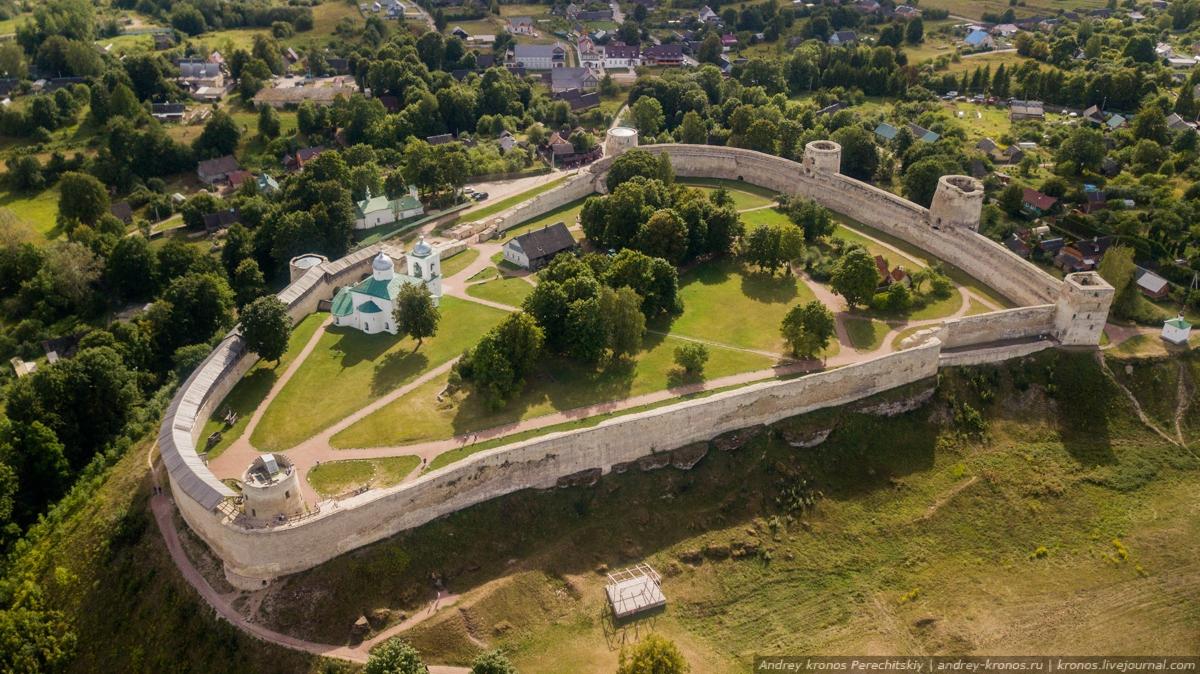 Фотоистория о древней крепости на Псковской земле