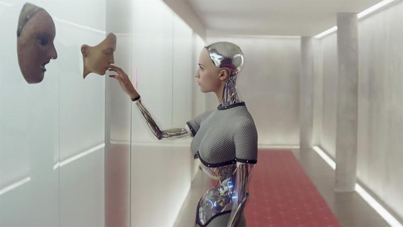 Из машины (2015) кино, компьютеры, технологии, фильмы