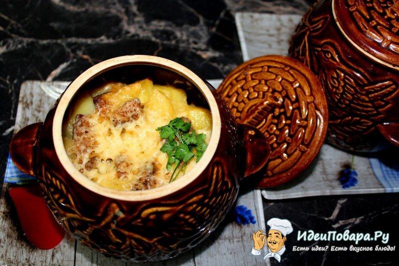 Мясо курицы в горшочке по-деревенски — рецепт