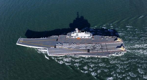 Китай признал дефективным купленный уУкраины авианосец
