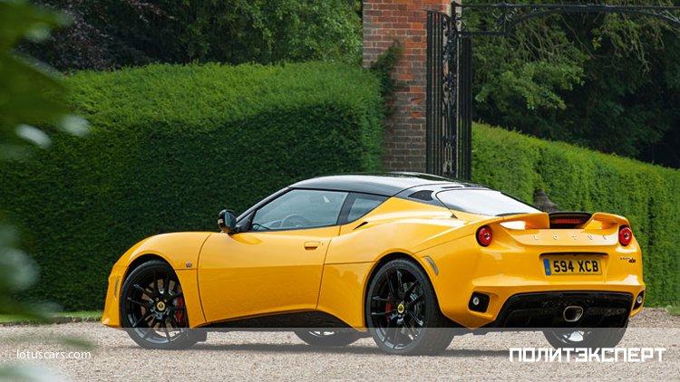 Компания Lotus выпустит новый спорткар в 2020 году