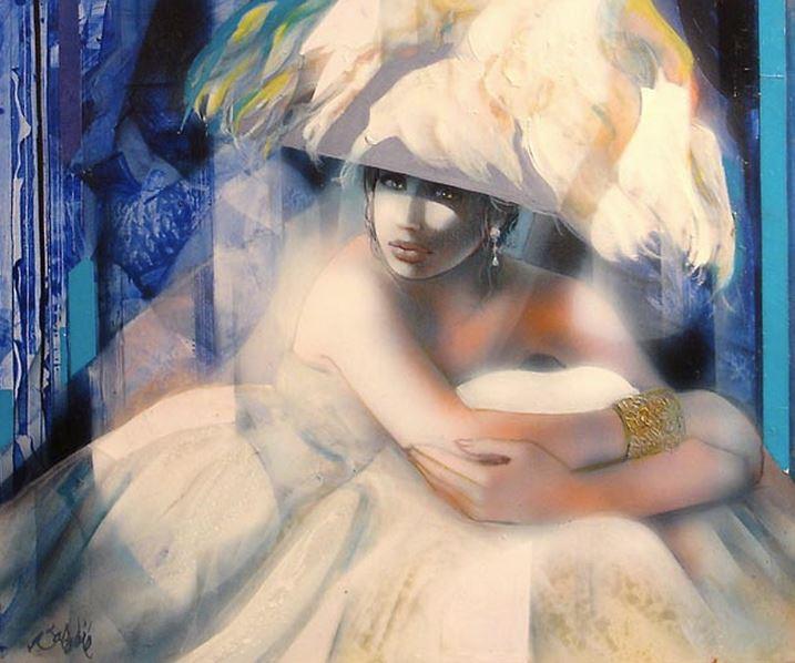 Jean-Baptiste Valadie. Необычные женские портреты