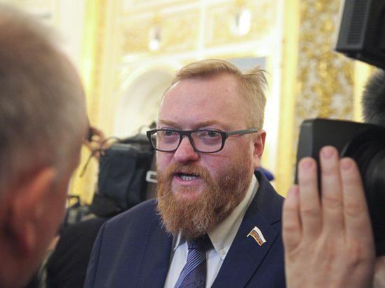 Депутат Милонов признался в …