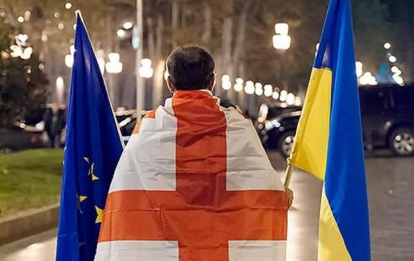Украину могут обвинить в попытке госпереворота в Грузии