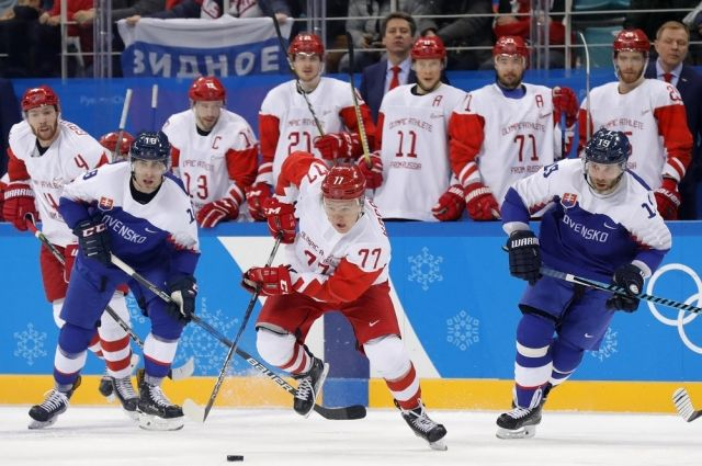Скажется ли поражение от словаков на шансах россиян на плей-офф Олимпиады?