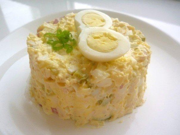 Замечательный простой салати…
