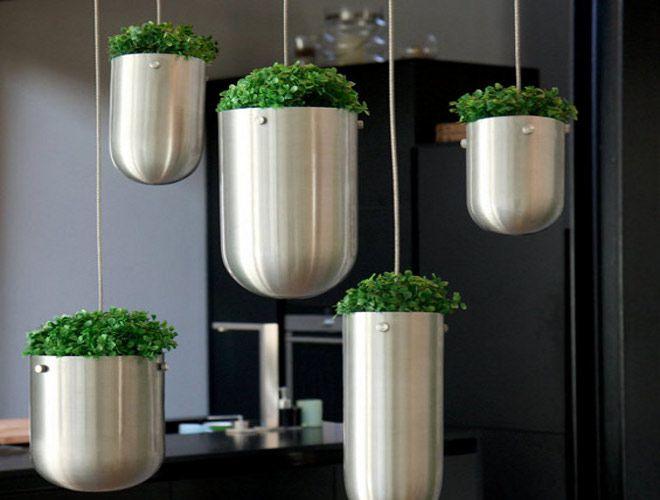 кашпо для цветов лофт подвесные