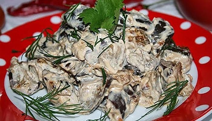 Баклажаны в сметане — изумительно вкусно