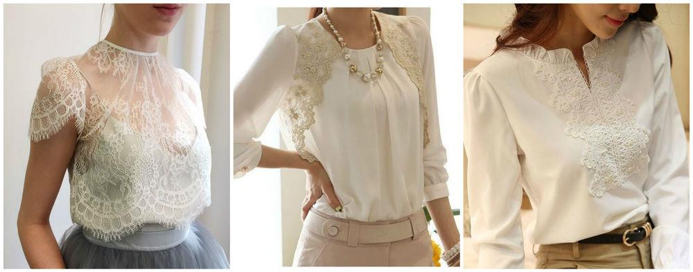 Как декорировать блузку своими руками фото 38