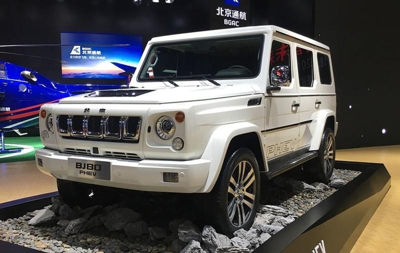 Китайские подделки на автовыставке в Шанхае