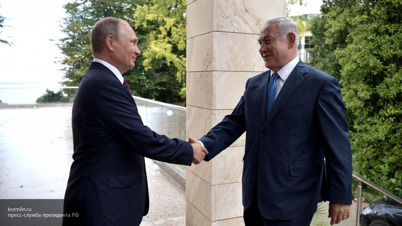 Нетаньяху намерен обсудить с Путиным усиление координации по САР