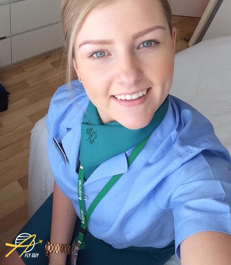 20. Ирландия - Aer Lingus люди, пилоты, стюардессы