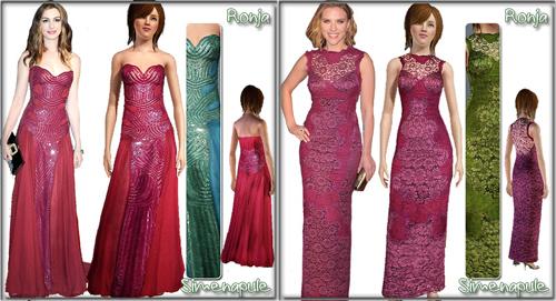 Вечерние платья от Ronja