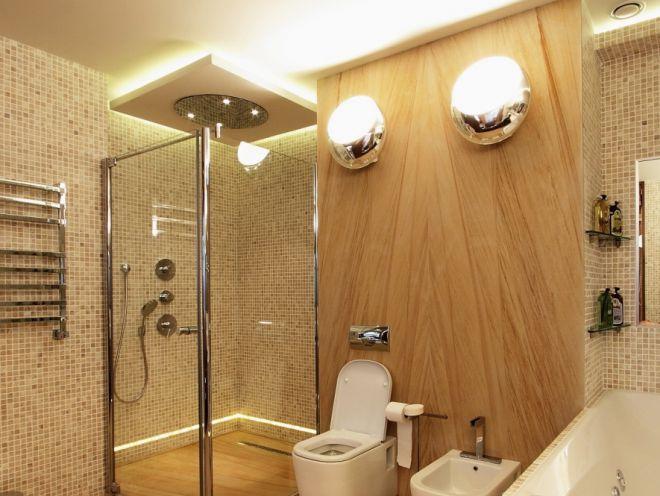 Накладные светильники для ванной