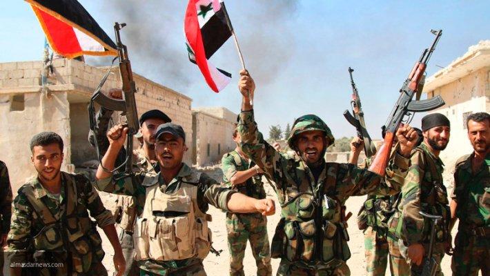 Силы САА в Хомсе перехватили огромный израильский арсенал