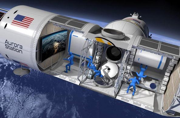 В 2021 году откроется первый отель на орбите