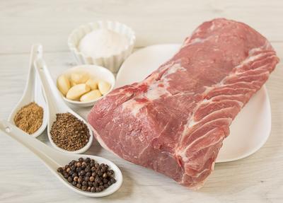Как делают белорусский мясной деликатес - палендвицу