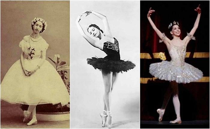 От длинной юбки до «облачка из газа»: как укорачивалась балетная пачка  Источник: